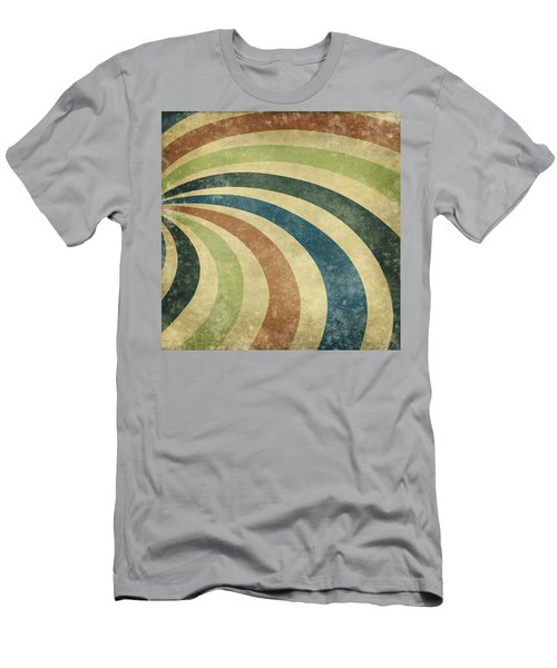 grunge Rays background Men's T-Shirt (Athletic Fit)