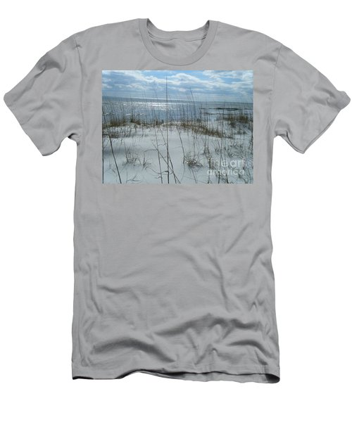 Men's T-Shirt (Slim Fit) featuring the photograph Gulf Coasting  by Janice Spivey