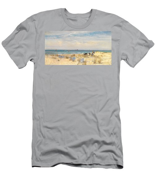 Harvesting The Land And The Sea Men's T-Shirt (Athletic Fit)