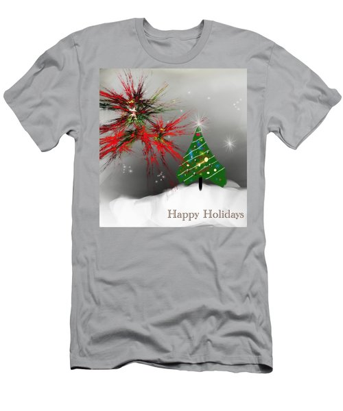 Holiday Card 2011a Men's T-Shirt (Athletic Fit)