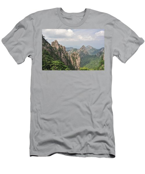 Huangshan Granite 1 Men's T-Shirt (Athletic Fit)