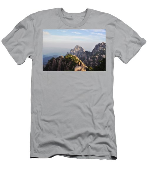 Huangshan Morning Men's T-Shirt (Athletic Fit)