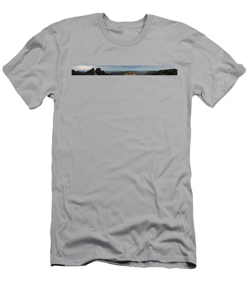 Huangshan Morning Panorama 1 Men's T-Shirt (Athletic Fit)