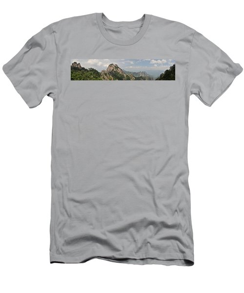 Huangshan Panorama 2 Men's T-Shirt (Athletic Fit)