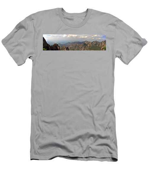 Huangshan Panorama 3 Men's T-Shirt (Athletic Fit)