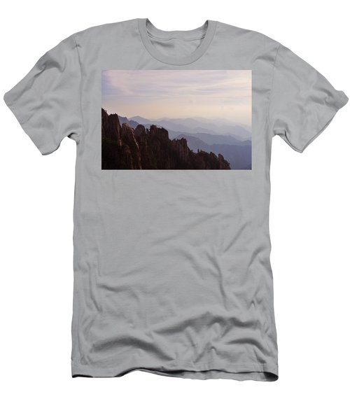 Huangshan Sunset Men's T-Shirt (Athletic Fit)