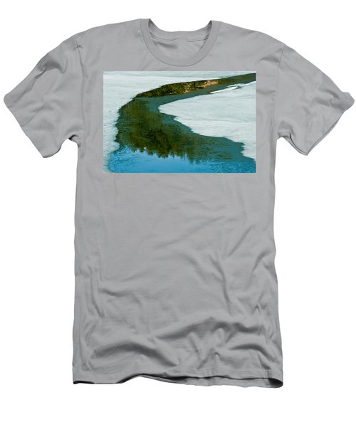 Ice Borders Men's T-Shirt (Athletic Fit)