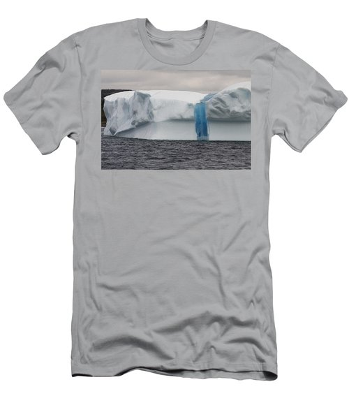 Men's T-Shirt (Slim Fit) featuring the photograph Iceberg by Eunice Gibb