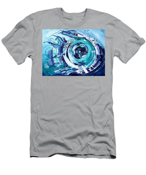 Icehole Fish Men's T-Shirt (Athletic Fit)