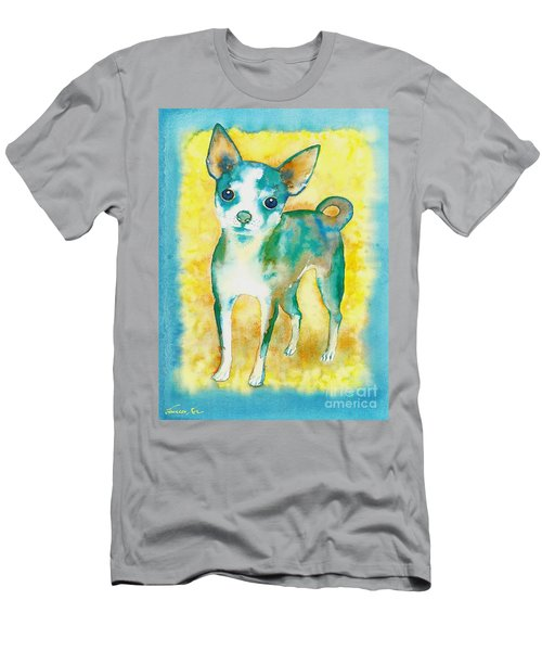 Ilio Chihuahua Men's T-Shirt (Athletic Fit)