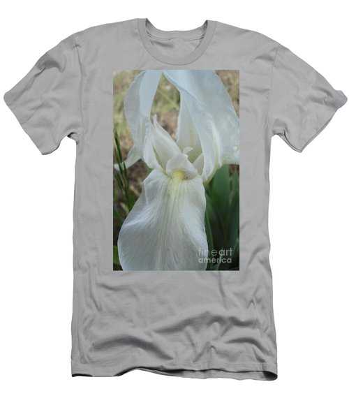 Men's T-Shirt (Slim Fit) featuring the photograph Iris Angel by Kerri Mortenson