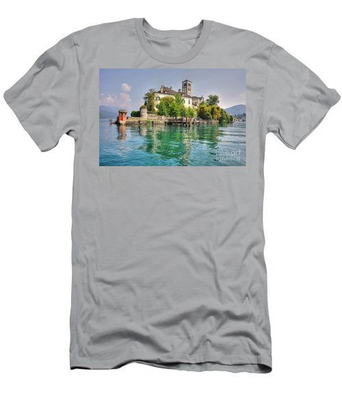Island San Giulio Men's T-Shirt (Athletic Fit)