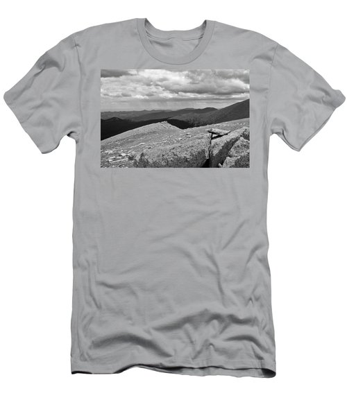 Men's T-Shirt (Slim Fit) featuring the photograph It's Raining In The Distance by David Pantuso