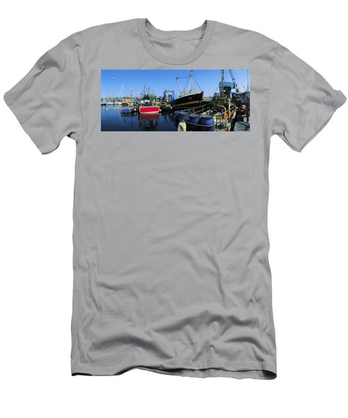 Kinsale, Co Cork, Ireland Fishing Boats Men's T-Shirt (Athletic Fit)