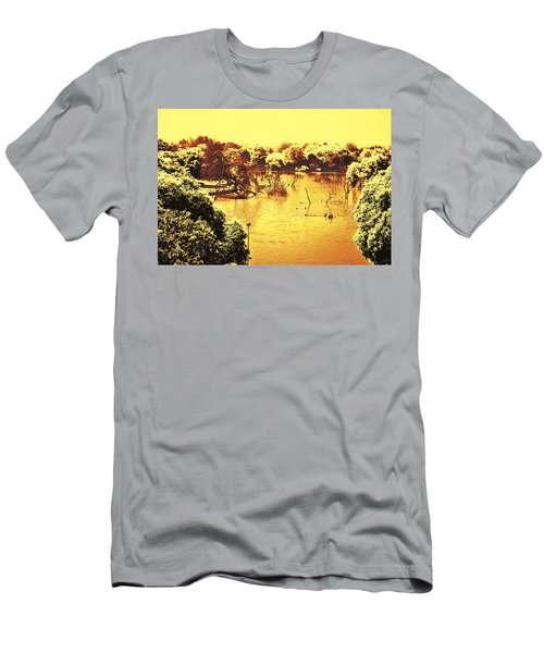 Lake In India Men's T-Shirt (Athletic Fit)