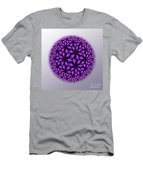 Last Dream Mandala Men's T-Shirt (Slim Fit) by Danuta Bennett