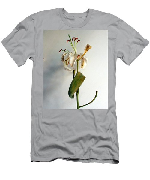Men's T-Shirt (Slim Fit) featuring the photograph Last Moments by Pravine Chester