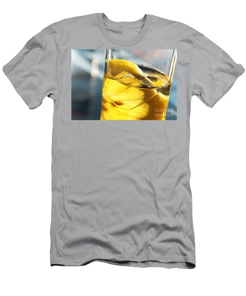 Lemon Drink Men's T-Shirt (Athletic Fit)