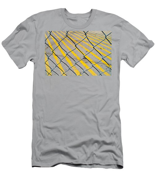 Men's T-Shirt (Slim Fit) featuring the photograph Lines by David Pantuso