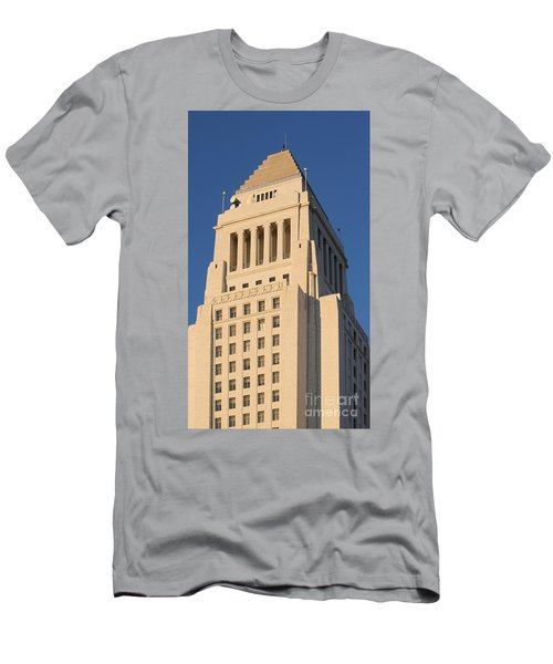 Los Angeles City Hall Men's T-Shirt (Athletic Fit)
