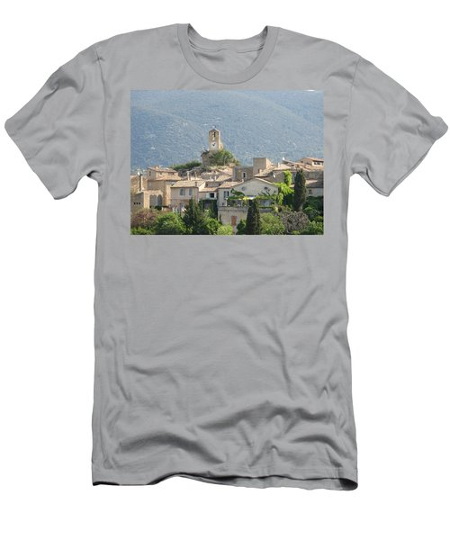 Lourmarin In Provence Men's T-Shirt (Slim Fit) by Carla Parris