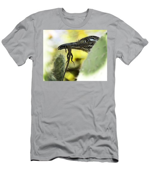 Lunch With A Roadrunner  Men's T-Shirt (Athletic Fit)