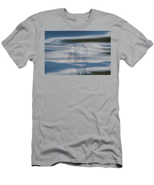 Men's T-Shirt (Slim Fit) featuring the photograph Magic On The Water by Cathie Douglas