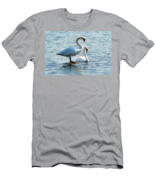 Mating Pair Men's T-Shirt (Athletic Fit)