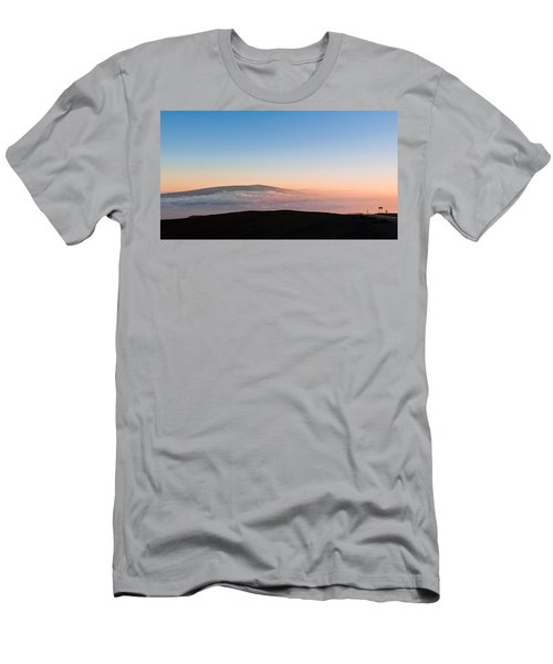 Mauna Loa Sunset Men's T-Shirt (Athletic Fit)
