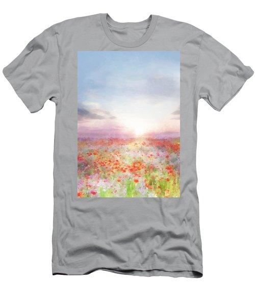 Meadow Flowers Men's T-Shirt (Athletic Fit)