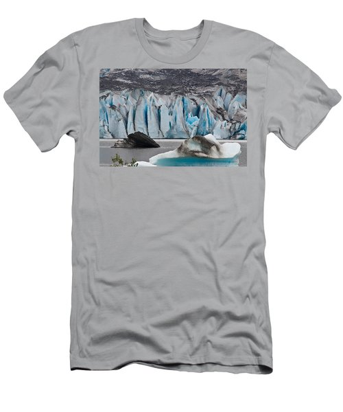 Mendenhall Glacier Juneau Alaska 1698 Men's T-Shirt (Slim Fit) by Michael Bessler