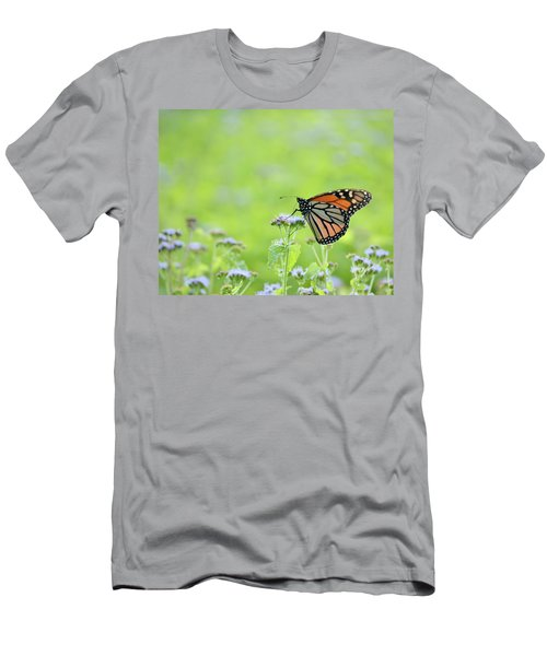 Monarch And Mist Men's T-Shirt (Athletic Fit)