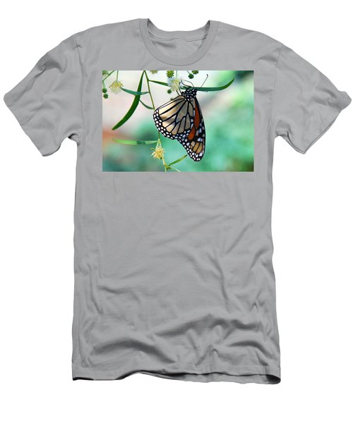 Men's T-Shirt (Slim Fit) featuring the photograph Monarch by Tam Ryan