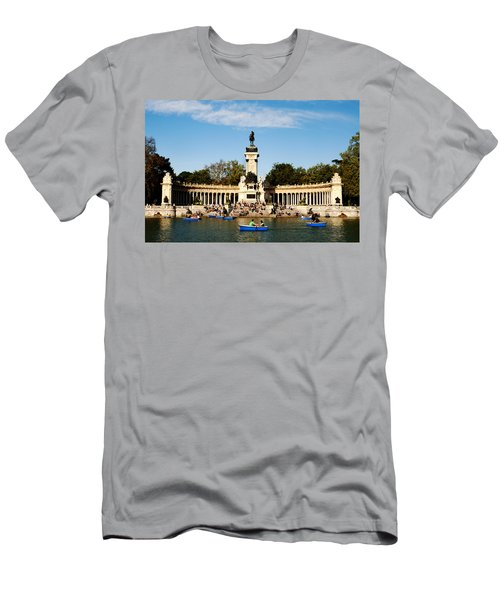 Monument To Alfonso Xii Men's T-Shirt (Athletic Fit)