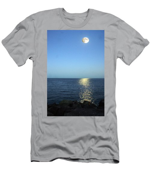 Moon And Water Men's T-Shirt (Athletic Fit)