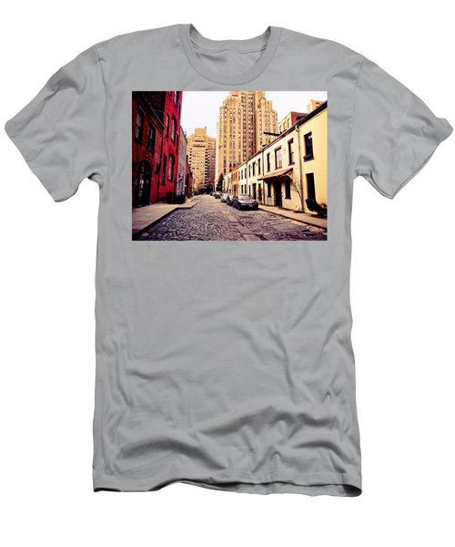 New York City - Greenwich Village Men's T-Shirt (Athletic Fit)