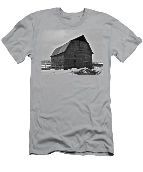 Men's T-Shirt (Slim Fit) featuring the photograph Noble Barn by Eric Tressler