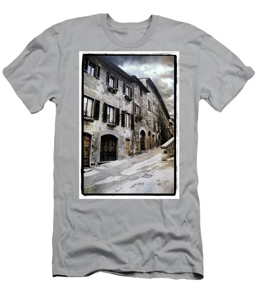 North Italy  Men's T-Shirt (Athletic Fit)