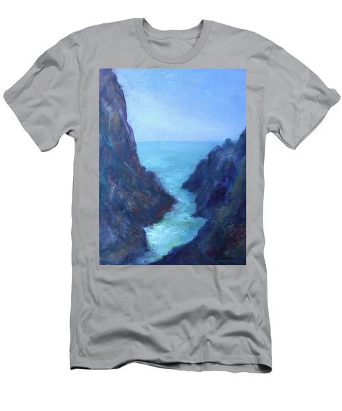 Ocean Chasm Men's T-Shirt (Athletic Fit)