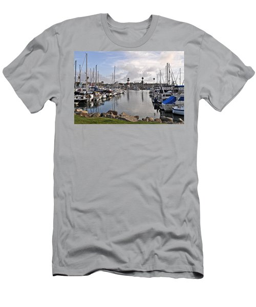 Oceaside Harbor Men's T-Shirt (Athletic Fit)