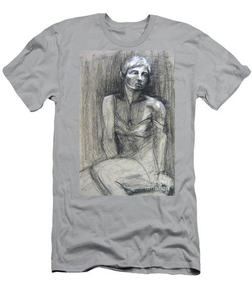 Off The Shoulder Men's T-Shirt (Athletic Fit)