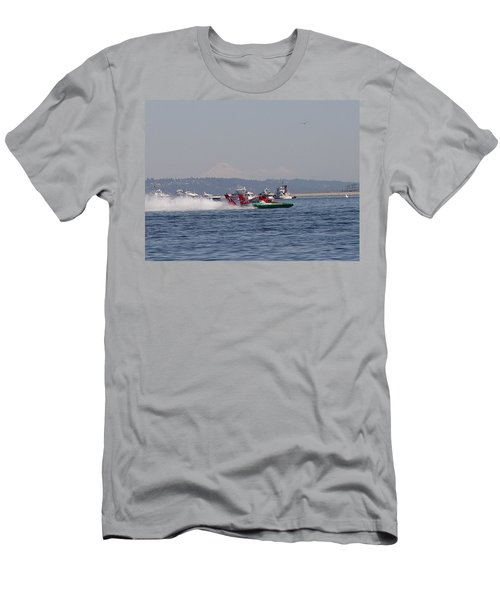 Oh Boy Oberto Men's T-Shirt (Athletic Fit)