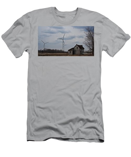Men's T-Shirt (Slim Fit) featuring the photograph Old And New by Barbara McMahon