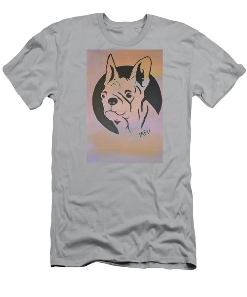 Men's T-Shirt (Slim Fit) featuring the painting Ole Fella by Maria Urso