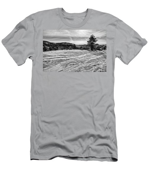 On The Way To Subway Men's T-Shirt (Athletic Fit)