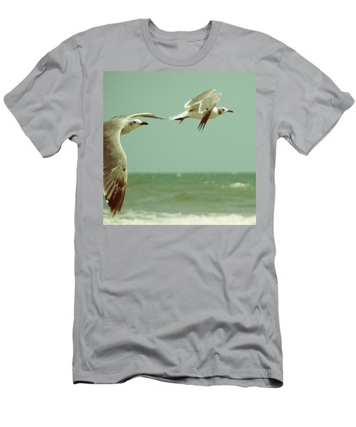 On The Wings Of A Seagull Men's T-Shirt (Athletic Fit)