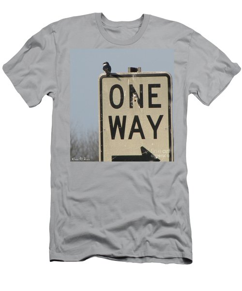 One Way Men's T-Shirt (Athletic Fit)