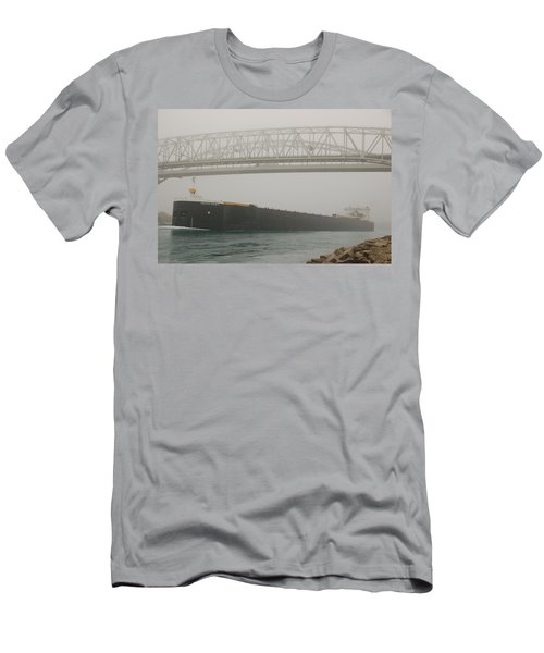 Only A Stones Throw Away Men's T-Shirt (Slim Fit) by Randy J Heath