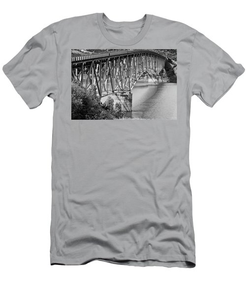 Over The River Men's T-Shirt (Athletic Fit)
