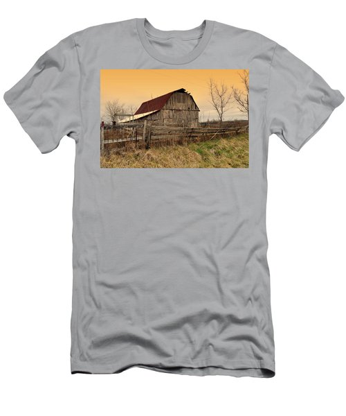 Ozark Barn 1 Men's T-Shirt (Athletic Fit)